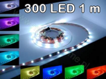 RGB 300 5050 LED Strip - 1m