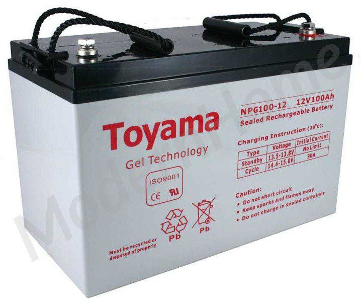 npg 12v 100ah gel battery batteries toyama gel. Black Bedroom Furniture Sets. Home Design Ideas