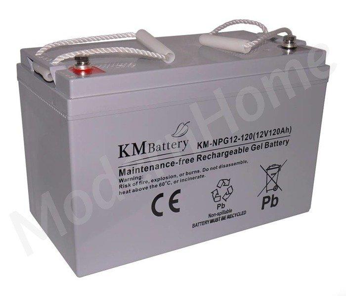 npg 12v 120ah gel battery batteries elowe km battery. Black Bedroom Furniture Sets. Home Design Ideas