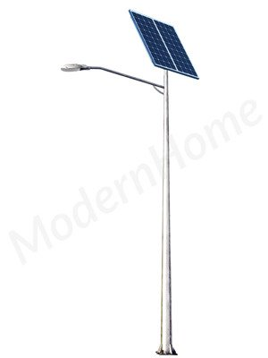 Solar LED Street Lamp - 5 or 6m height (30W LED lamp, 2x160W Solar Panel)