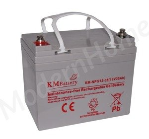 Akumulator żelowy KM Battery NPG 35Ah 12V